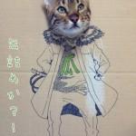 猫ダンボールアートが可愛い過ぎる。着るだけが段ボールじゃない画像まとめ