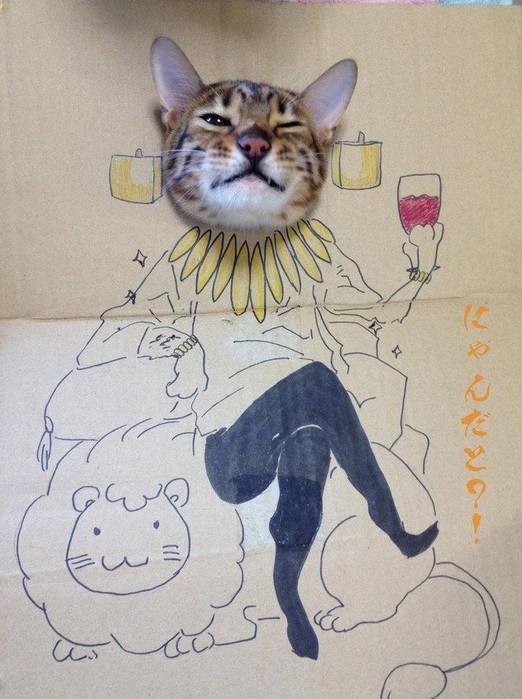 猫とfateアーチャー
