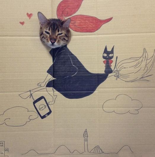 猫と魔女の宅急便